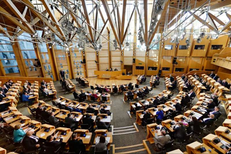 scottish parliament prep around the world