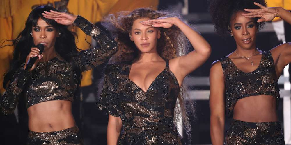 Watch Destiny's Child Reunite During Beyoncé's Coachella Performance