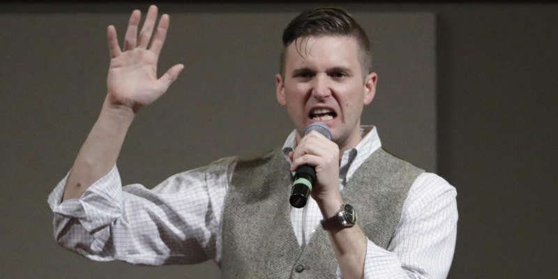 richard spencer facebook makersupport shutdown alt-right crowdfunding