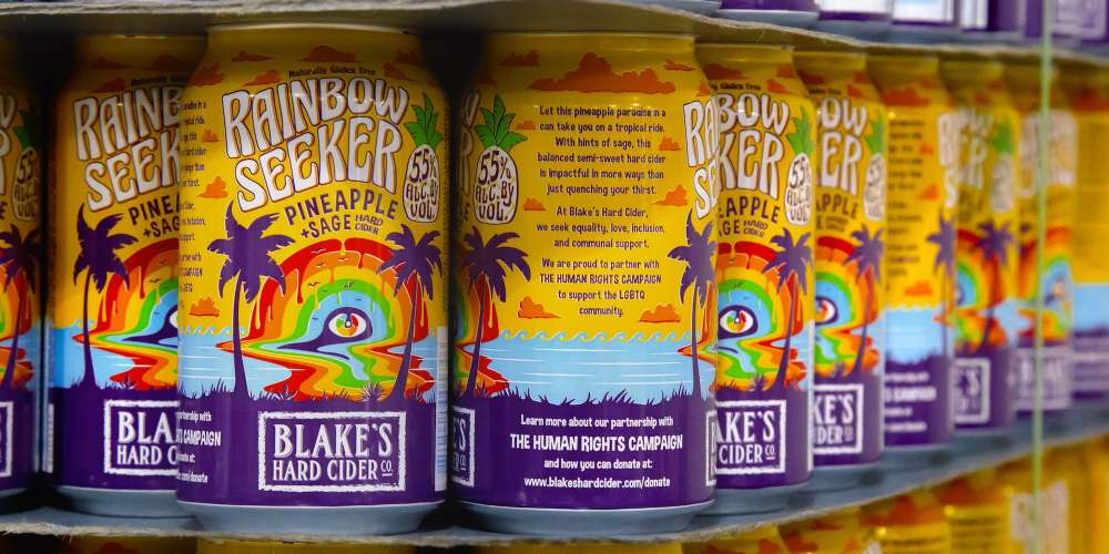 New 'Rainbow Seeker' Hard Cider Supports LGBTQ Equality (With a Hint of Pineapple and Sage)