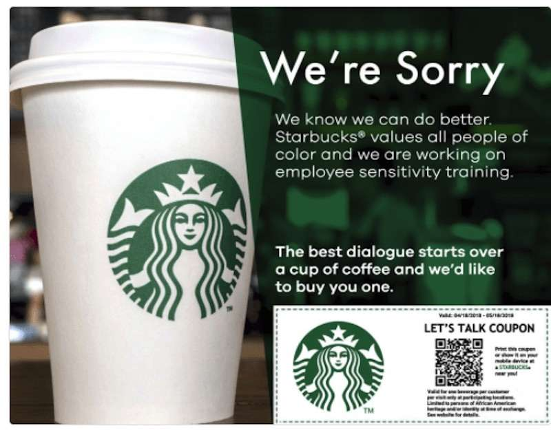 fake Starbucks coupon 02, racist starbucks hoax 02
