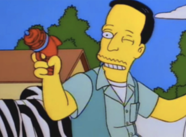 simpsons gay john waters gay simpsons