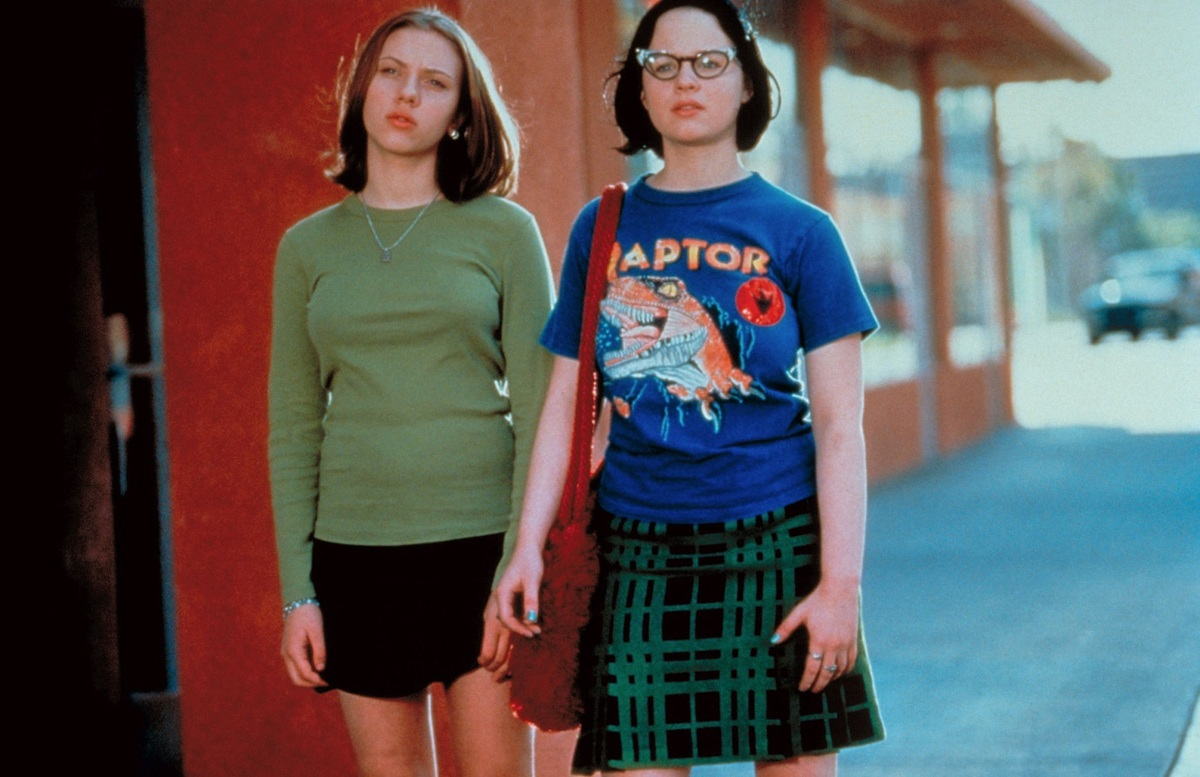 comic book movies ghost world