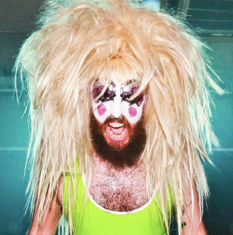 bearded drag queens baby lame