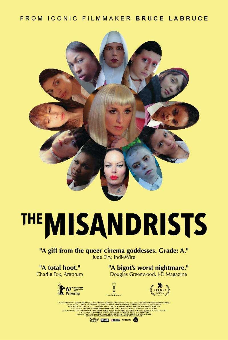bruce la bruce misandrists poster