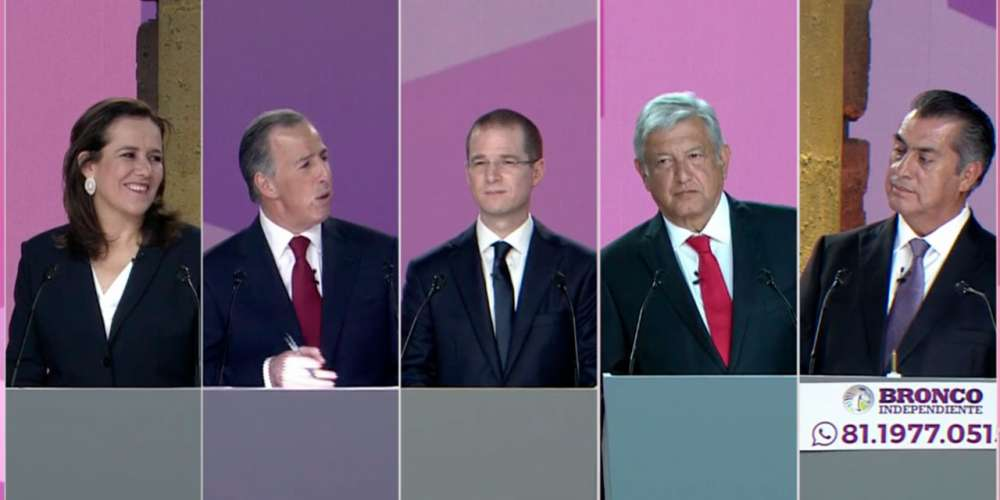 mexico's first presidential debate teaser