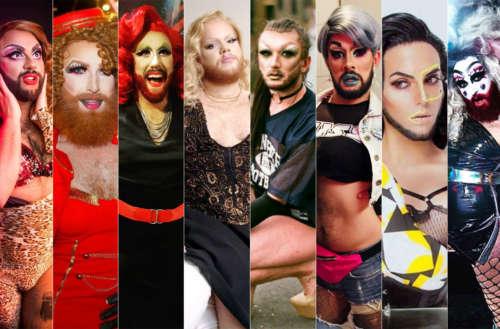 bearded drag queens