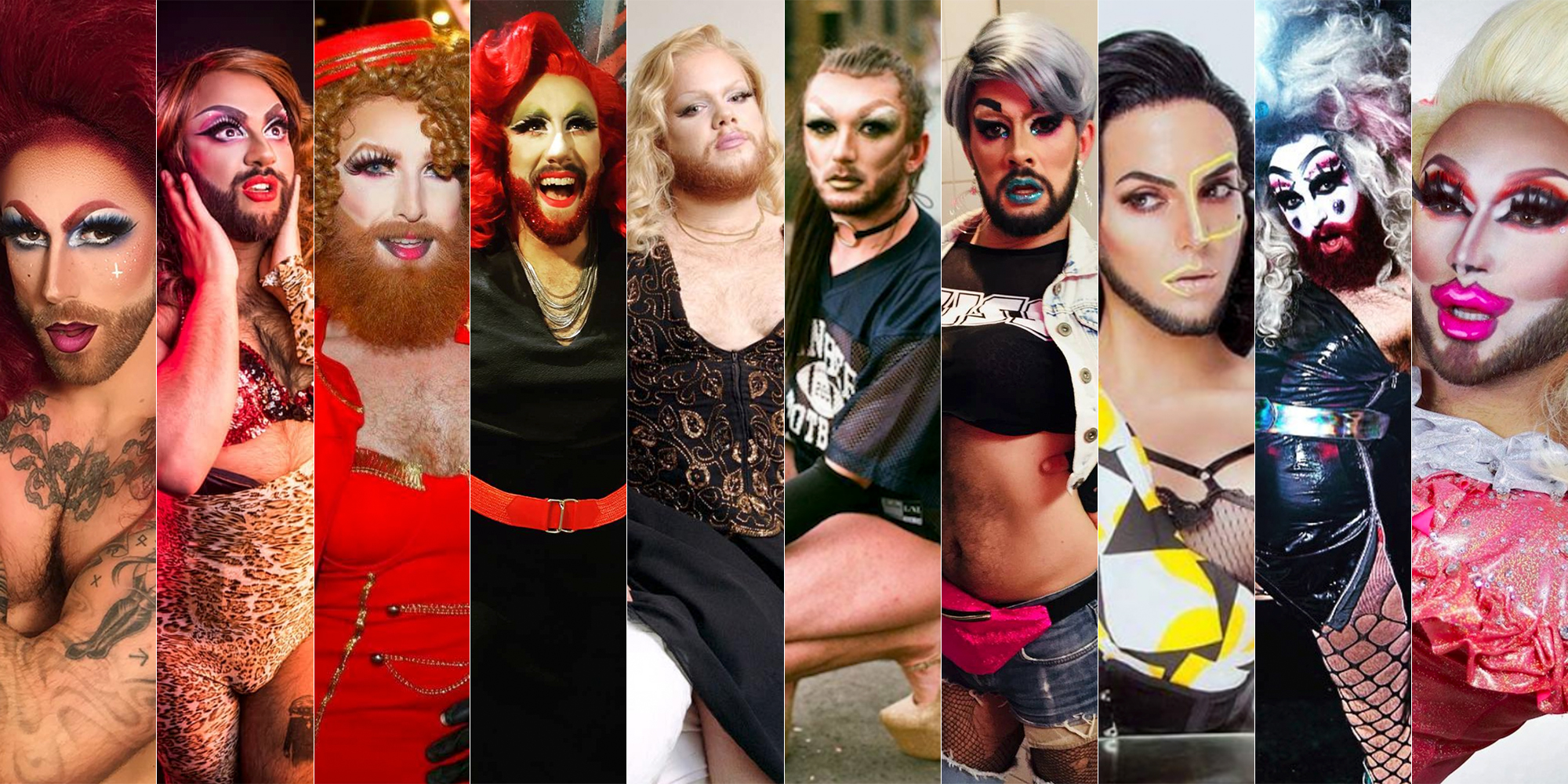 Pushing the Boundaries of Drag: 10 Bearded Queens Of Europe