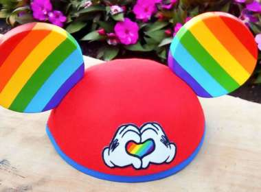 pride mickey ears Mickey Mouse Rainbow Love