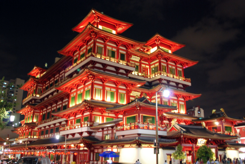 gay singapore buddha tooth relic temple