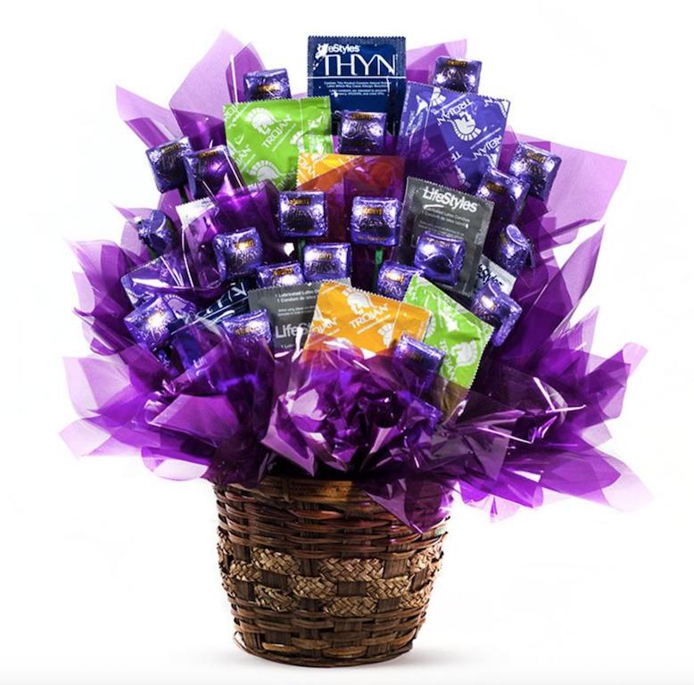 frenemy gift ideas condoms gift basket