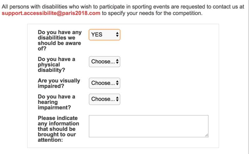 gay games registration disability 2