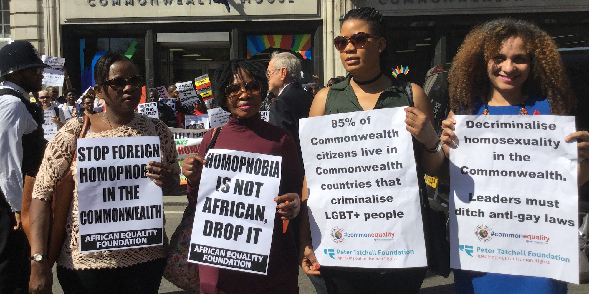 Commonwealth countries criminalise homosexuality