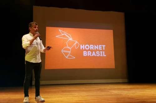 Hornet marca presença
