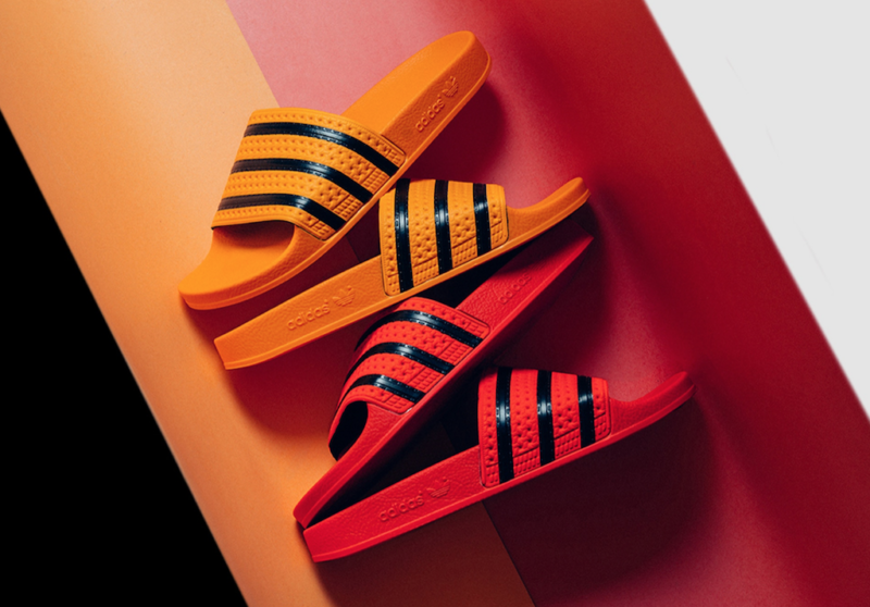 current obsessions adidas slides