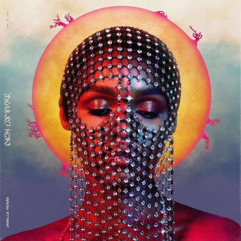new Janelle Monáe Dirty Computer sleeve
