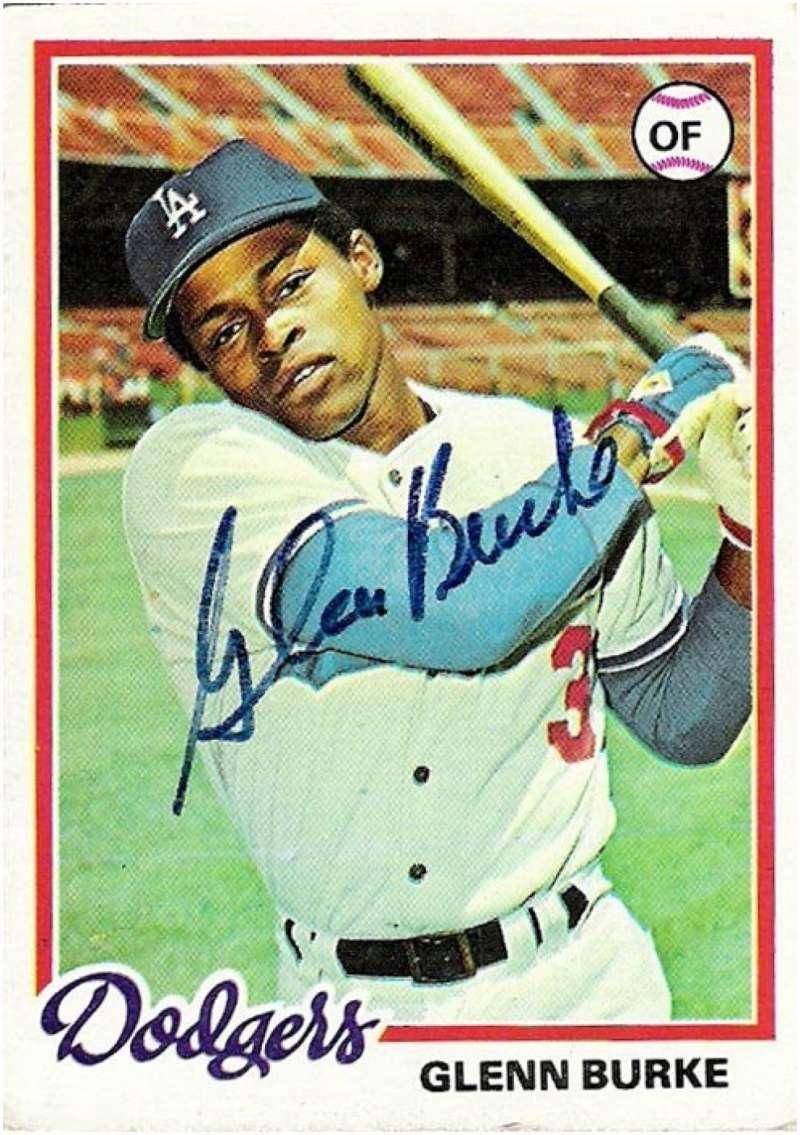 glenn burke high-five baseball card