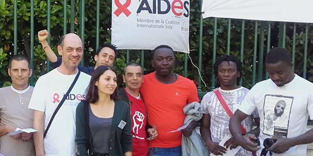 Moussa, le bénévole de Aides Nîmes, est en cours d'expulsion