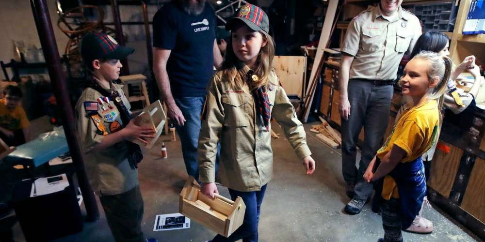 The Boy Scouts are Dropping the Word 'Boy' From Their Name as Girls Join the Ranks