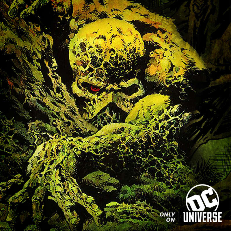 swamp thing dc universe dc streaming channel
