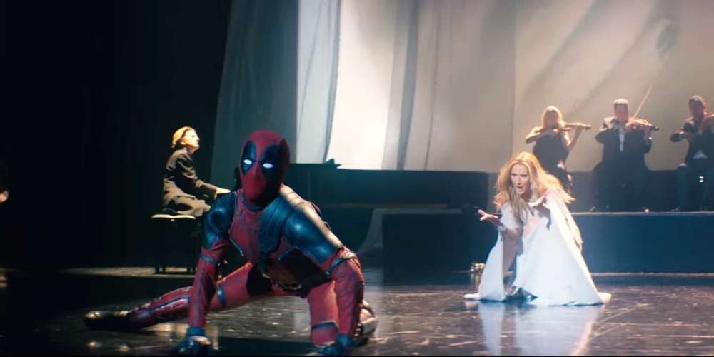 Conoce al Hombre en Tacones que Interpretó a Deadpool en el Nuevo Video de Celine Dion