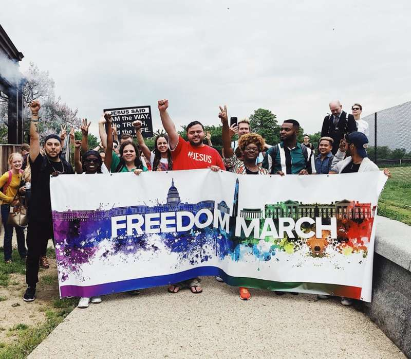 freedome march 2