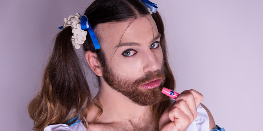Meet Ladybeard, Japan's Crossdressing, Cosplaying, Bodybuilding Pop-Metal Singer