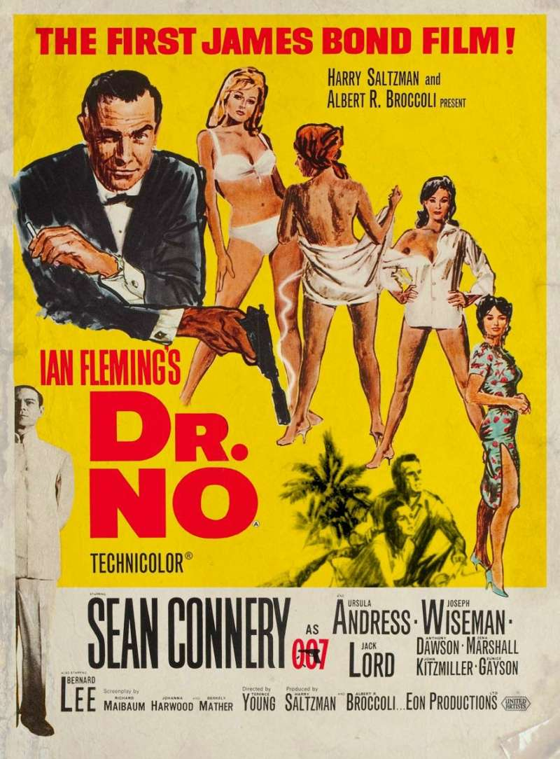 dr. no film posters