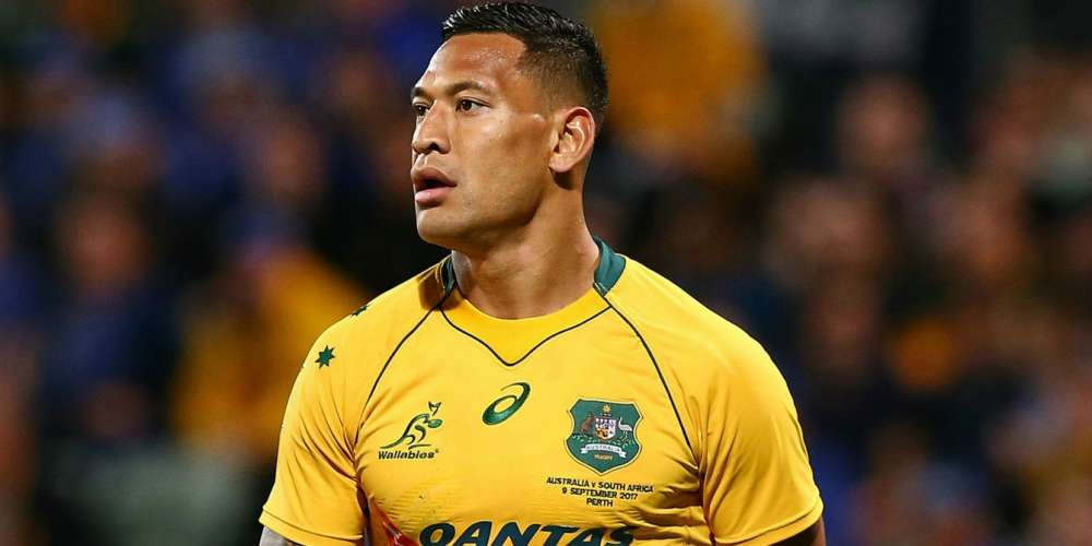Rugby's Israel Folau Doubles Down on Anti-Gay Stance With New 'Get Right With God' Video
