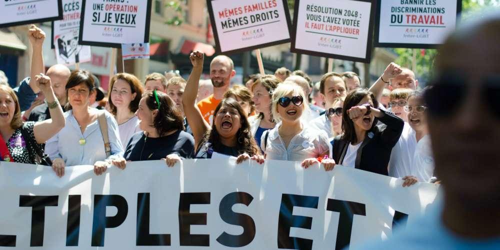 Les discriminations dans le sport mises en avant pour la marche des fiertés LGBT de Paris