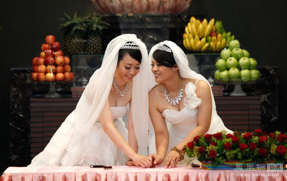 taiwan marriage equality brides