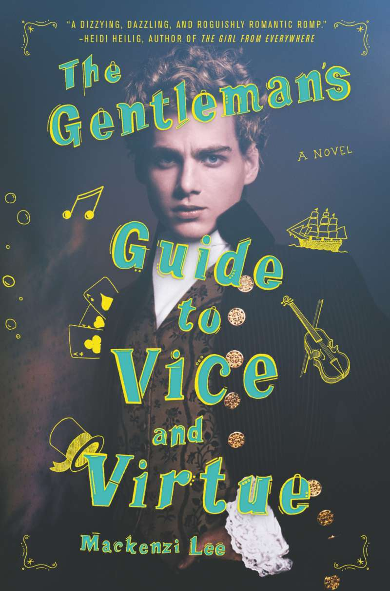 The Gentleman's Guide to Vice and Virtue book cover new greg berlanti show