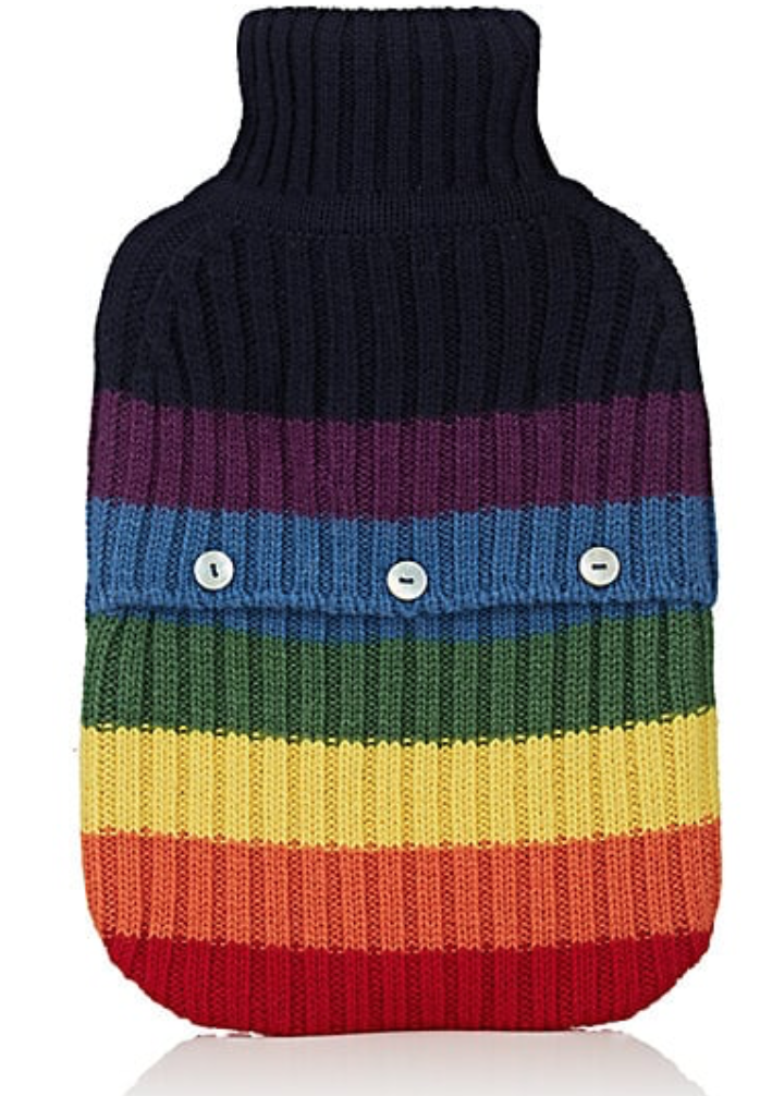 weekend getaway hot water bottle cozy