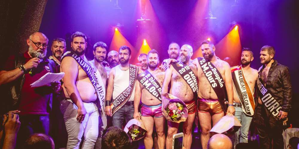 The Fur Was Flying as 8 Parisian Men Competed for Mr. Bear 2018 (Photos)