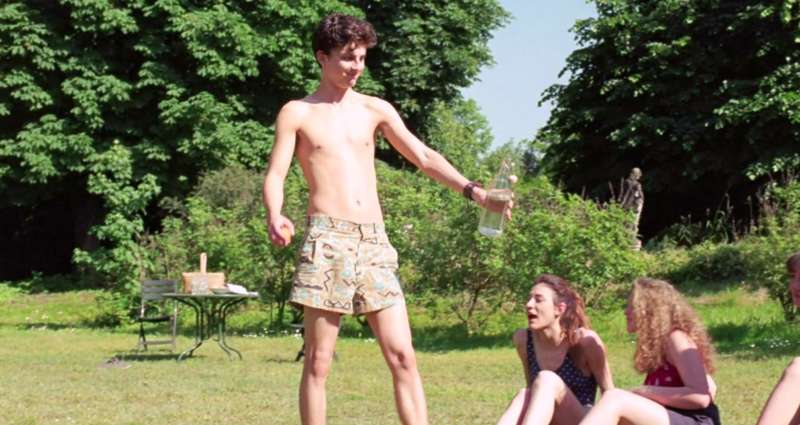 age of the twink timothee chalamet