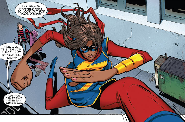 Ms. Marvel 05, Captain Marvel 05, Brie Larson 05
