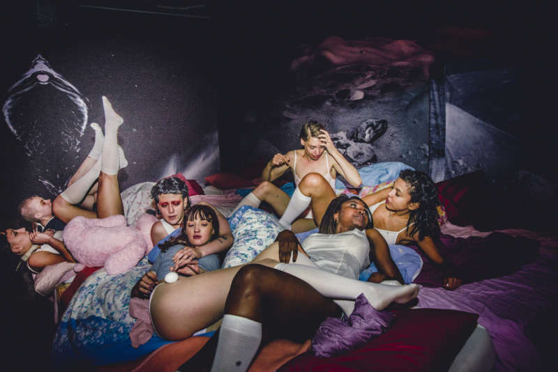 bruce labruce interview misandrists group shot