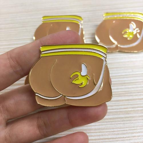 taiwan pink economy butt pin