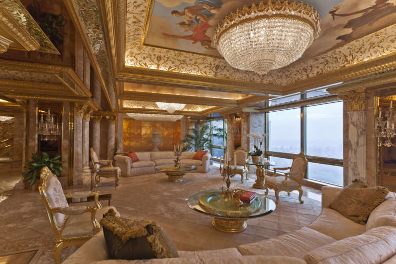 donald trump twitter account nyc penthouse