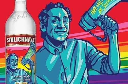 Stoli Vodka Harvey Milk 01
