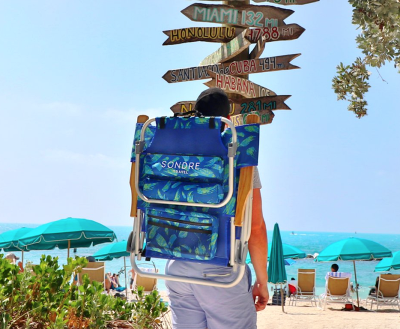 friend who has everything gift guide beach chair