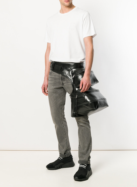 current obsessions rick owen fanny pack