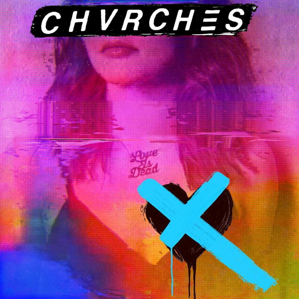 new chvrches album cover