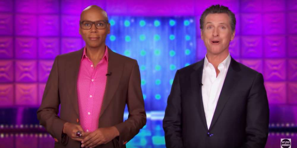 You Better Vote: RuPaul Endorses Gavin Newsom for California Governor