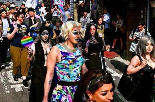 Seoul drag parade 01