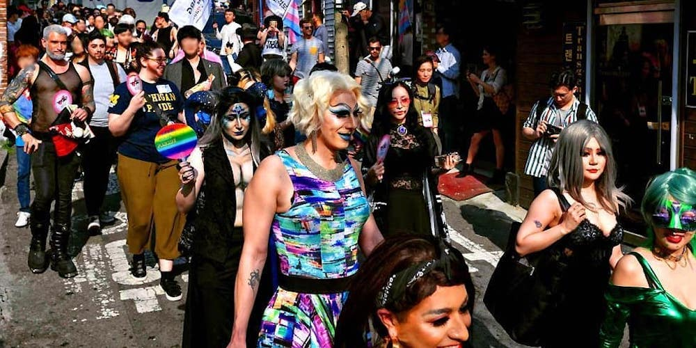 Dozens of Drag Queens Marched In South Korea's First-Ever Drag Parade (Photos)