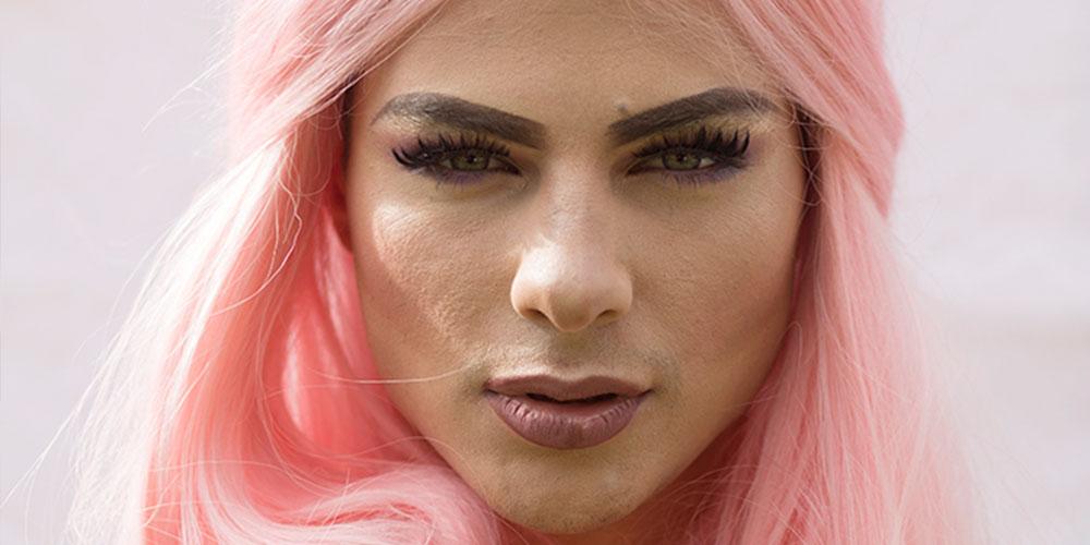 La part efféminée de Jordan Bruno, Mister Gay World 2018
