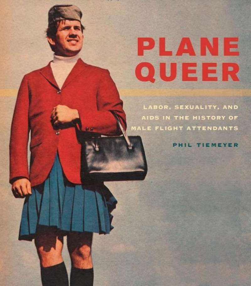 male flight attendants 01, Plane Queer, Phil Tiemeyer