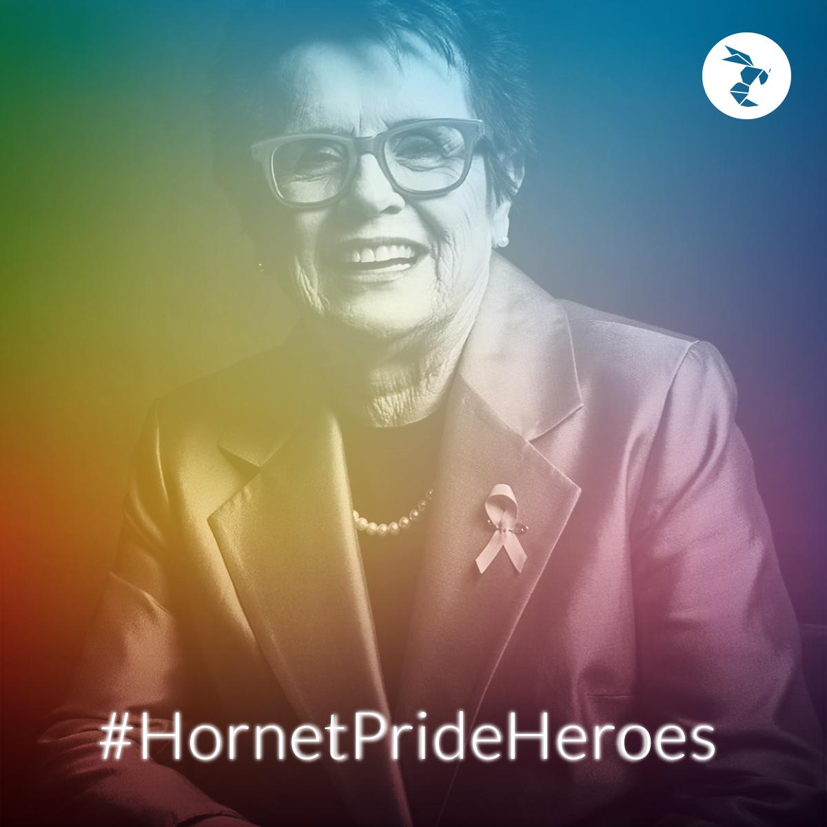 Hornet Pride Heroes billie jean king