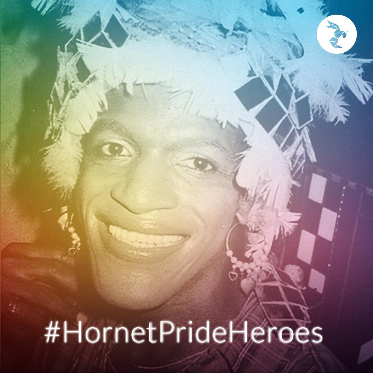 Hornet Pride Heroes marsha p johnson